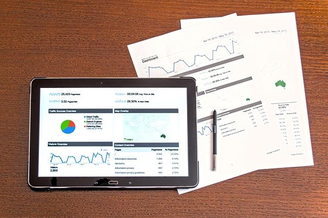 タブレットとデータ